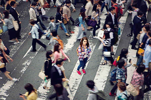 lost in japan - lost stock photos and pictures