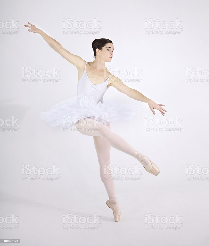 Lost in the dance royalty-free stock photo