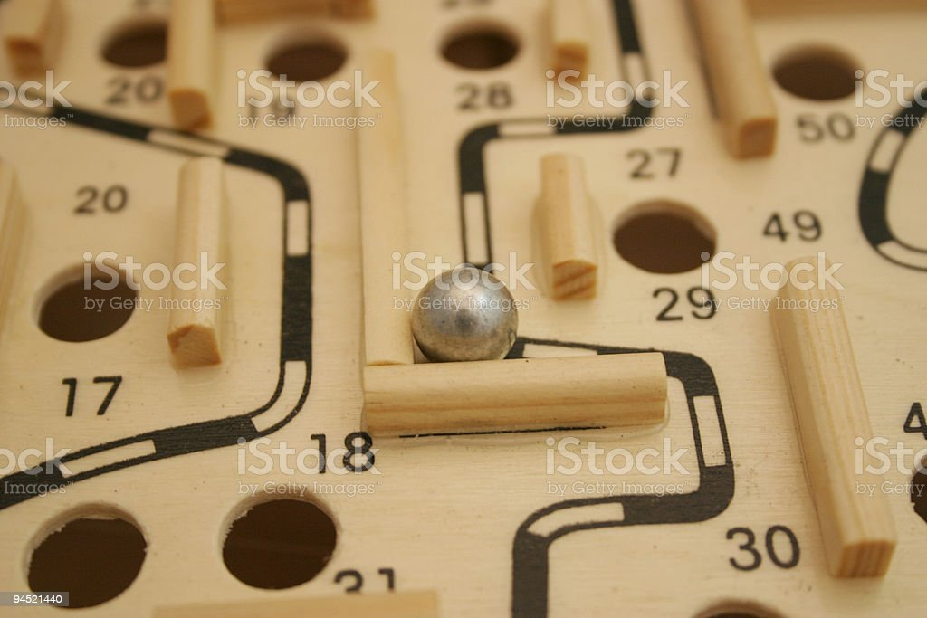 Lost In The Labyrinth royalty-free stock photo
