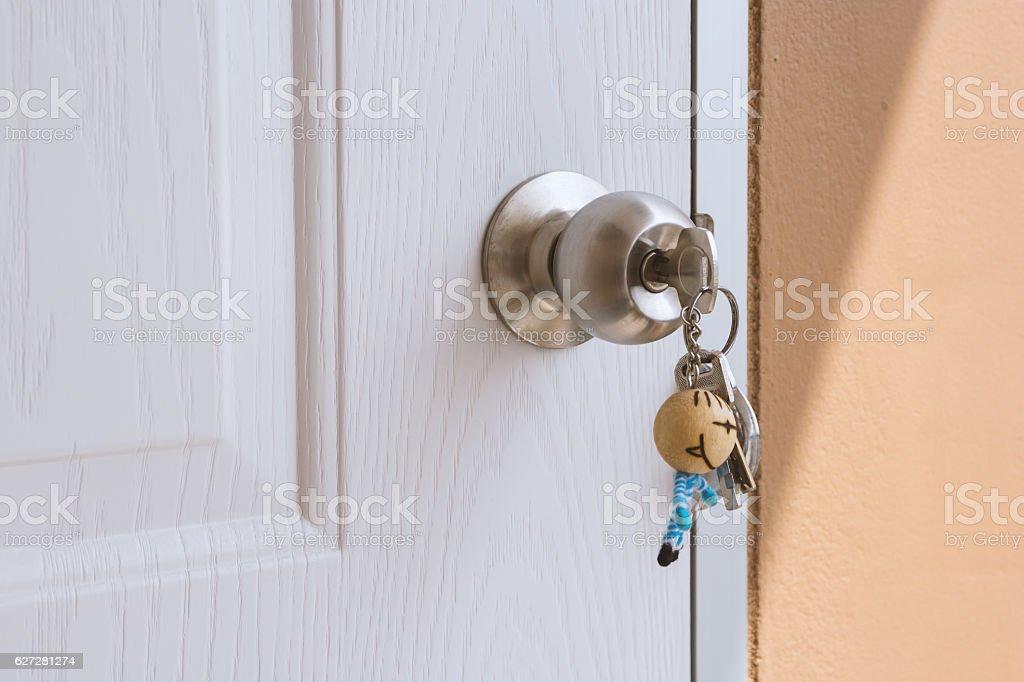 Lost keys background stock photo