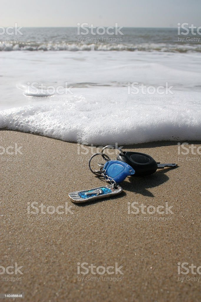 Lost keys royalty-free stock photo