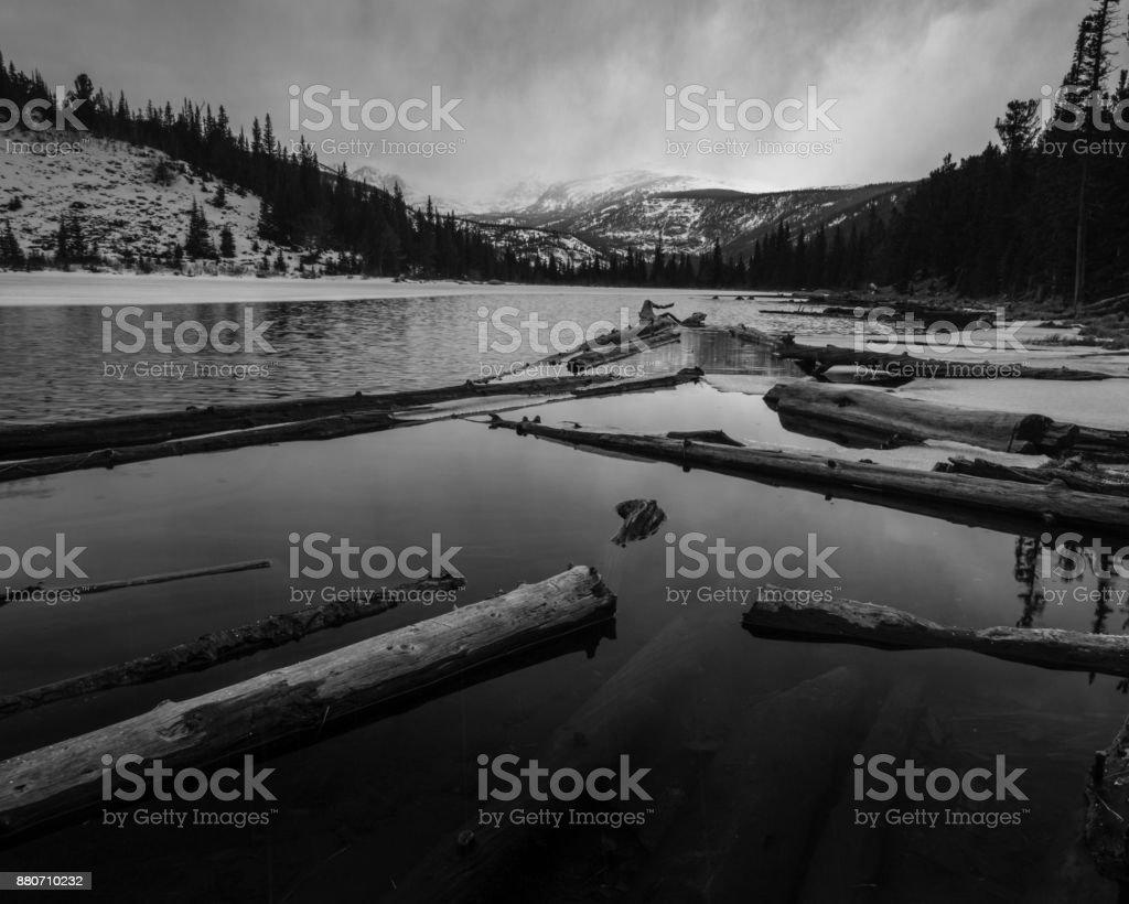 Lost Lake - Colorado stock photo