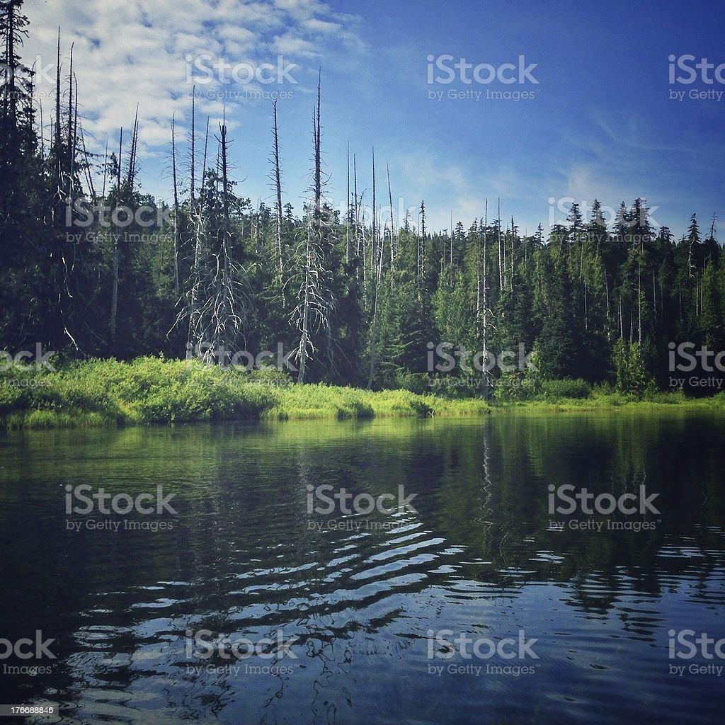 Lost Lake royalty-free stock photo