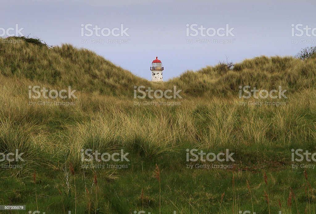 Lost Lighthouse stock photo