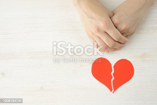 istock Lost love and divorce concepts 1008194742