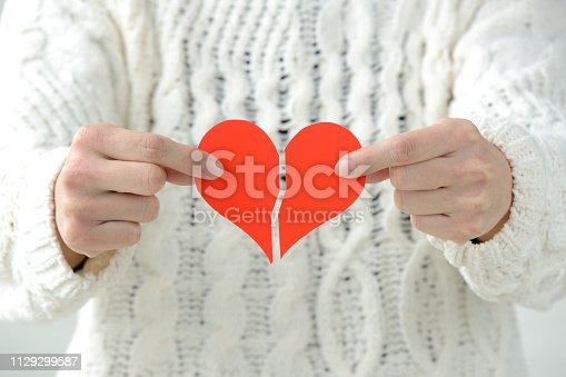 182781451 istock photo Lost love concepts 1129299587
