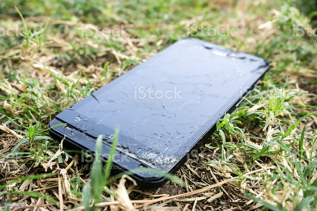 Lost Mobile Phone stock photo