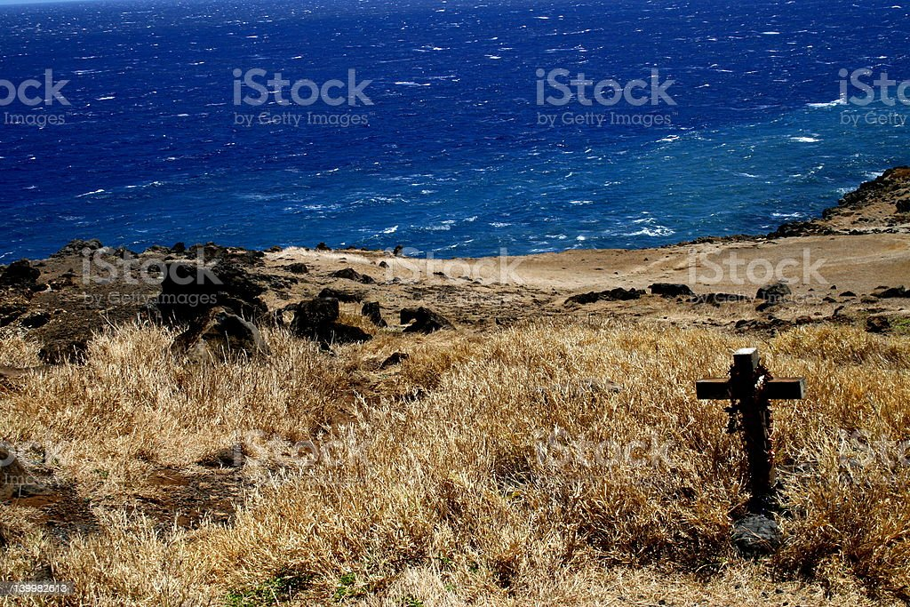 Lost on the road to Hana royalty-free stock photo