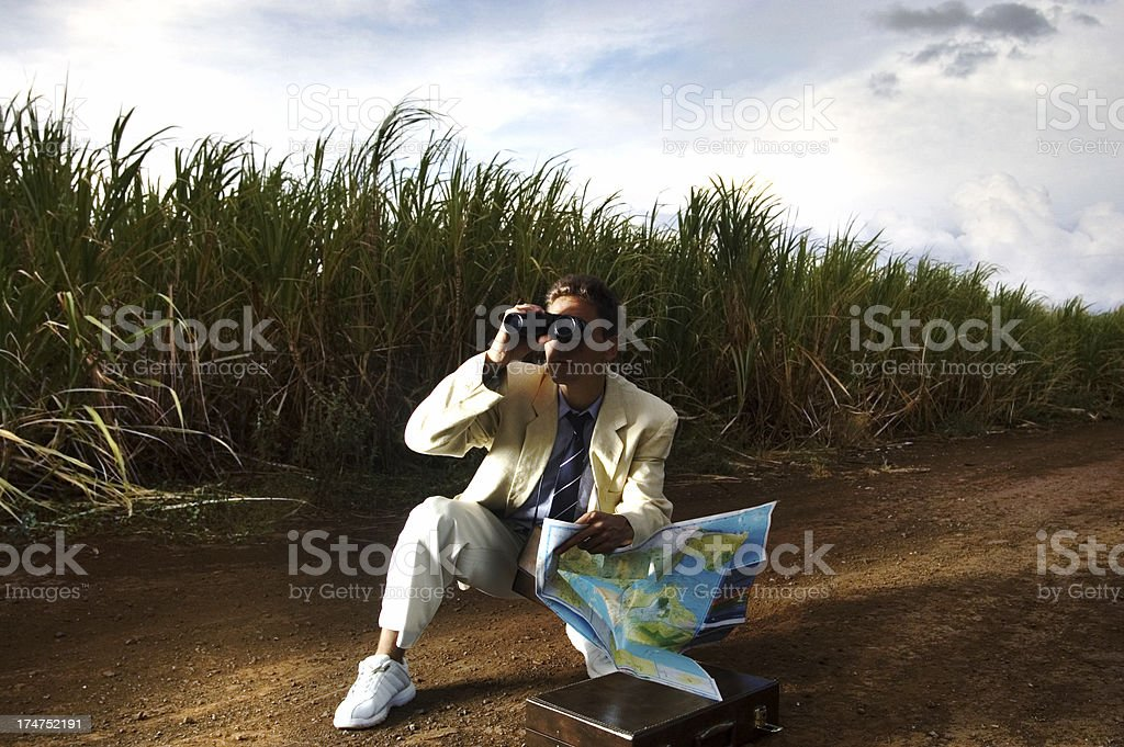 Lost royalty-free stock photo