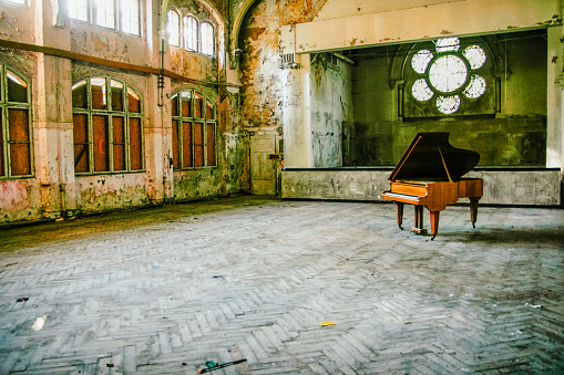 Lost Place with Piano