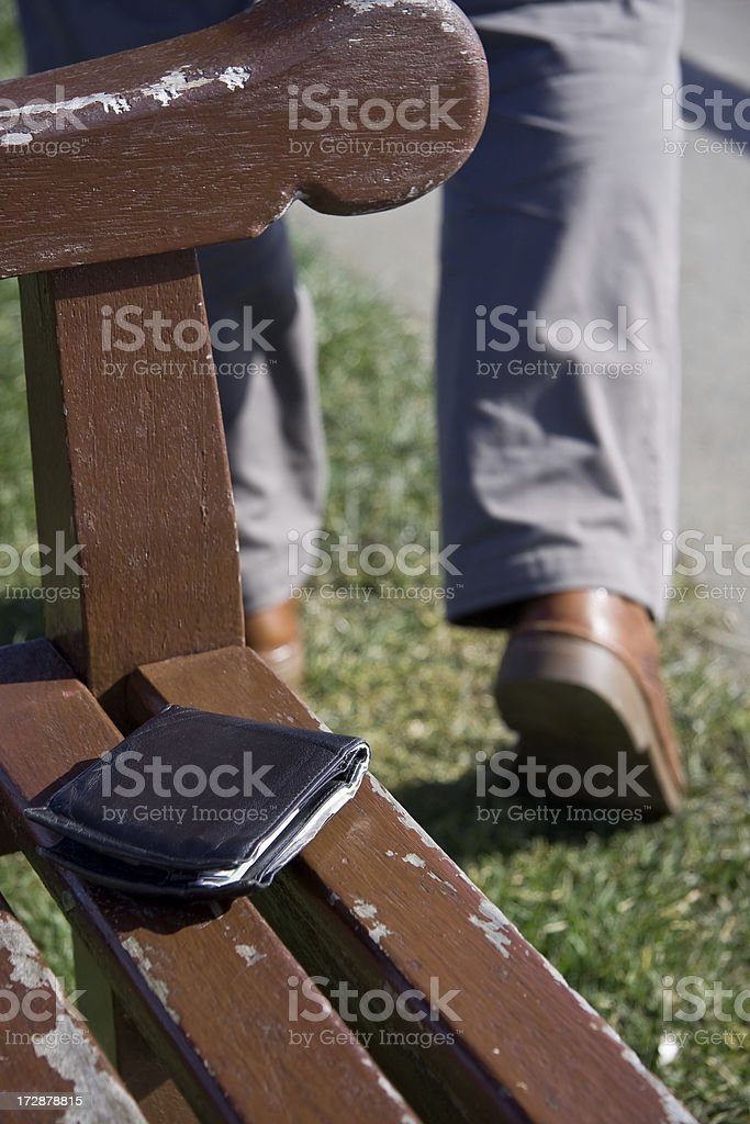 Lost Property royalty-free stock photo