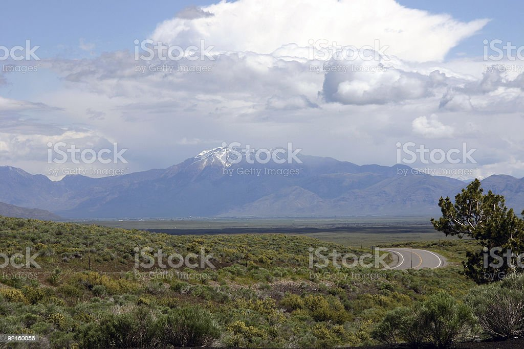 Lost River Range stock photo