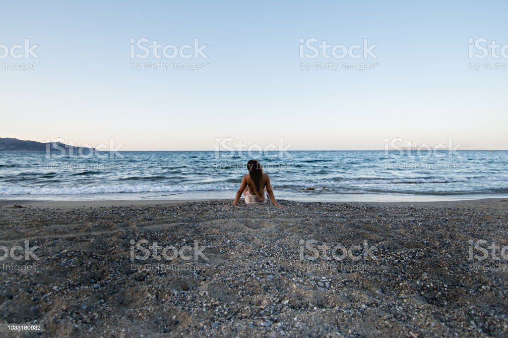 Lost thoughts stock photo