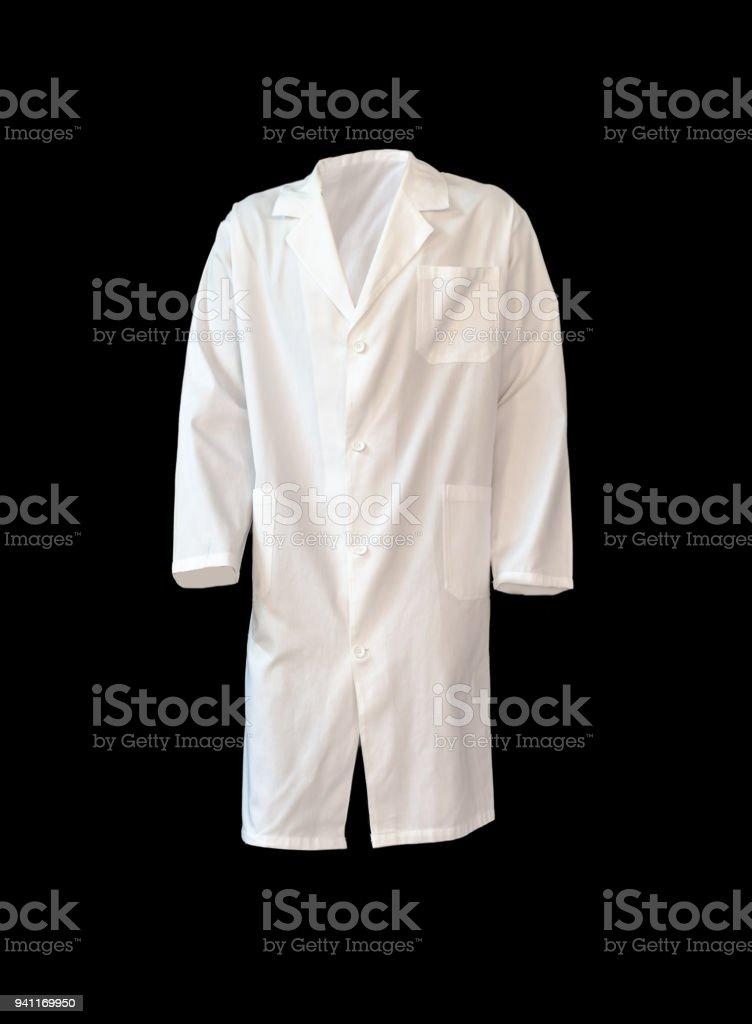 Lot doctors clothes stock photo
