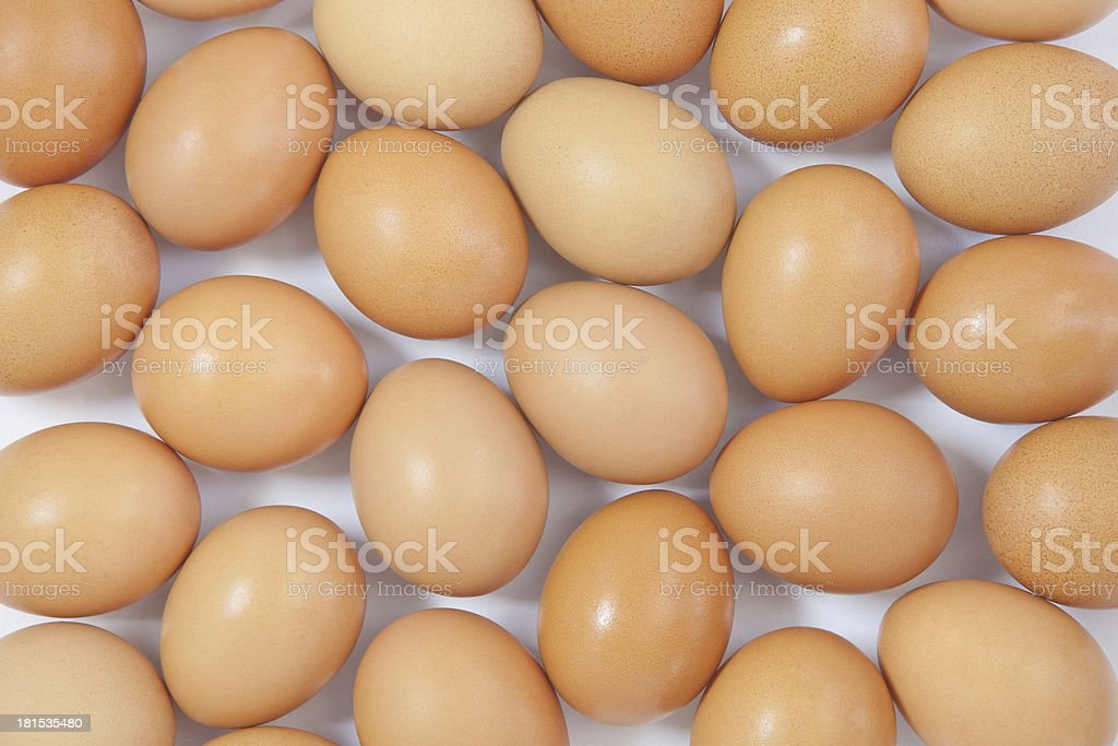 lot of eggs as a background royalty-free stock photo