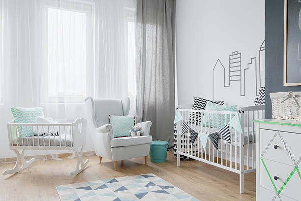 Lot of light in a baby's room – Foto