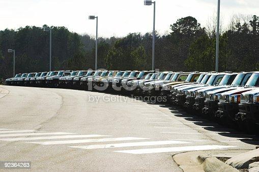 istock SUV Lot 92364263