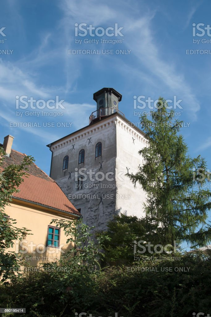 Lotrscak-Turm in der Stadt Zagreb Kroatien – Foto