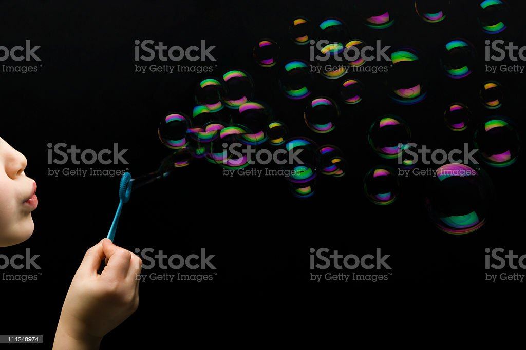 Lots of bubbles! royalty-free stock photo