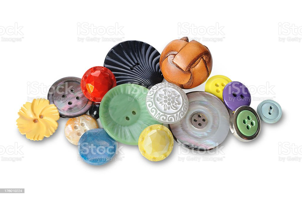 Lots of Buttons royalty-free stock photo