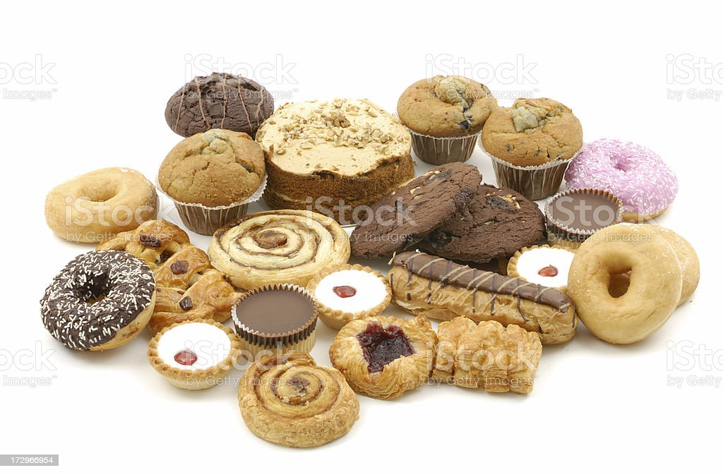 lots of cakes royalty-free stock photo