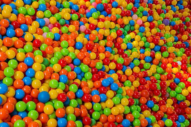 Beaucoup de ballons de couleur - Photo