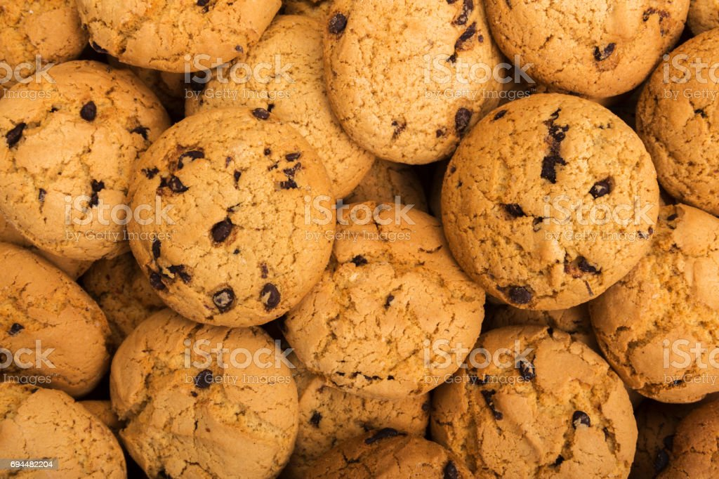 Lots of cookies and biscuits background stock photo