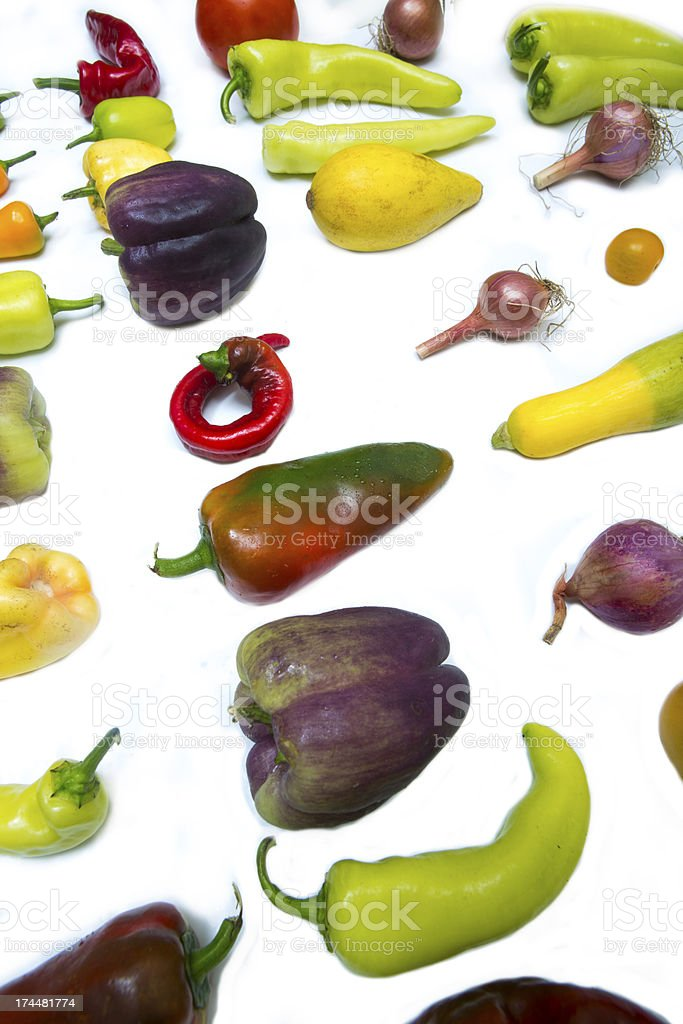lots of local vegetables stock photo