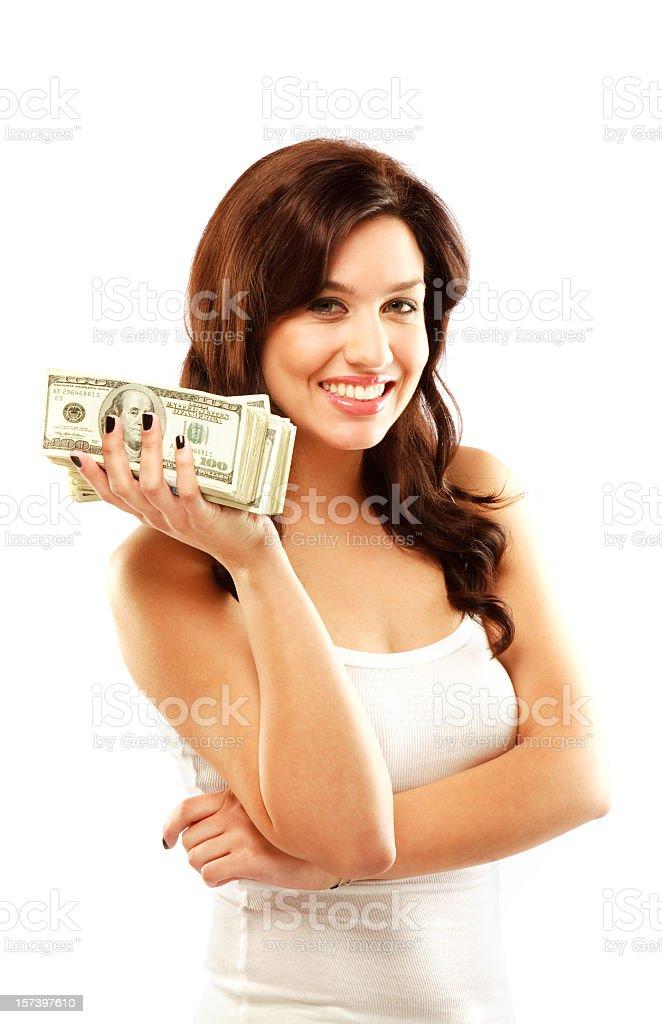 Lots of money royalty-free stock photo