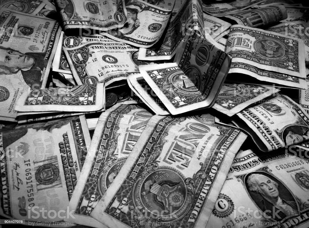 Lots Of Money stock photo