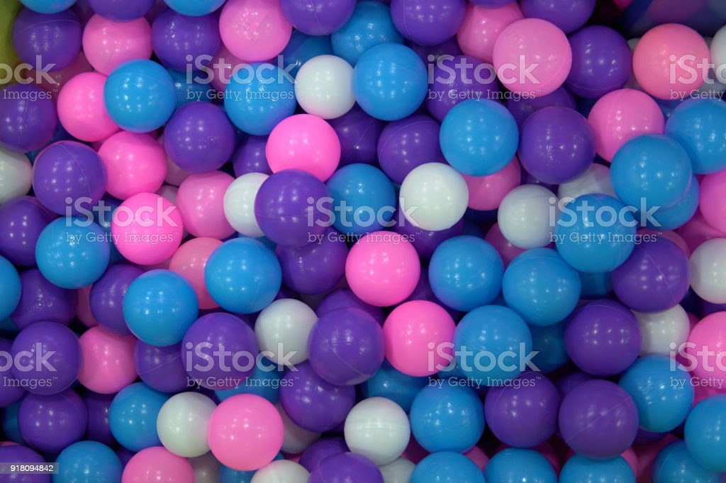 lots of multicolored round balls texture background 1