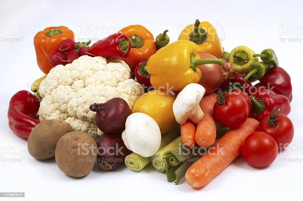 lots of vegetables royalty-free stock photo