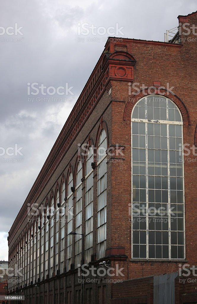 Lots Road Power Station royalty-free stock photo