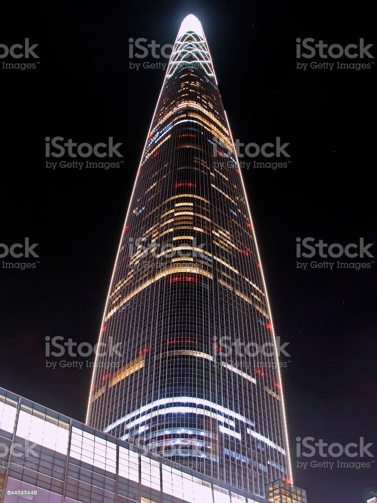 Lotte World Tower stock photo