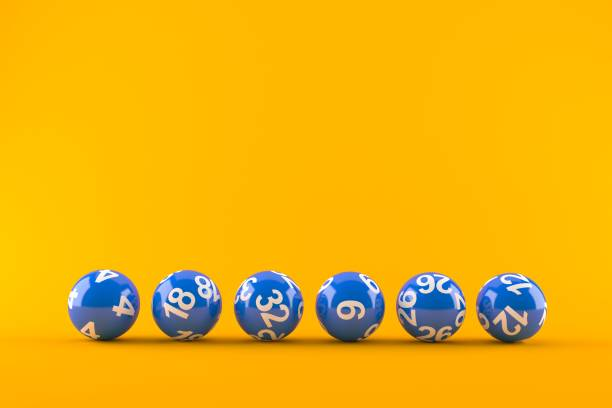 Lottery balls - foto stock
