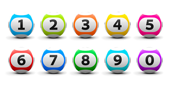 istock Lottery balls set 481564138