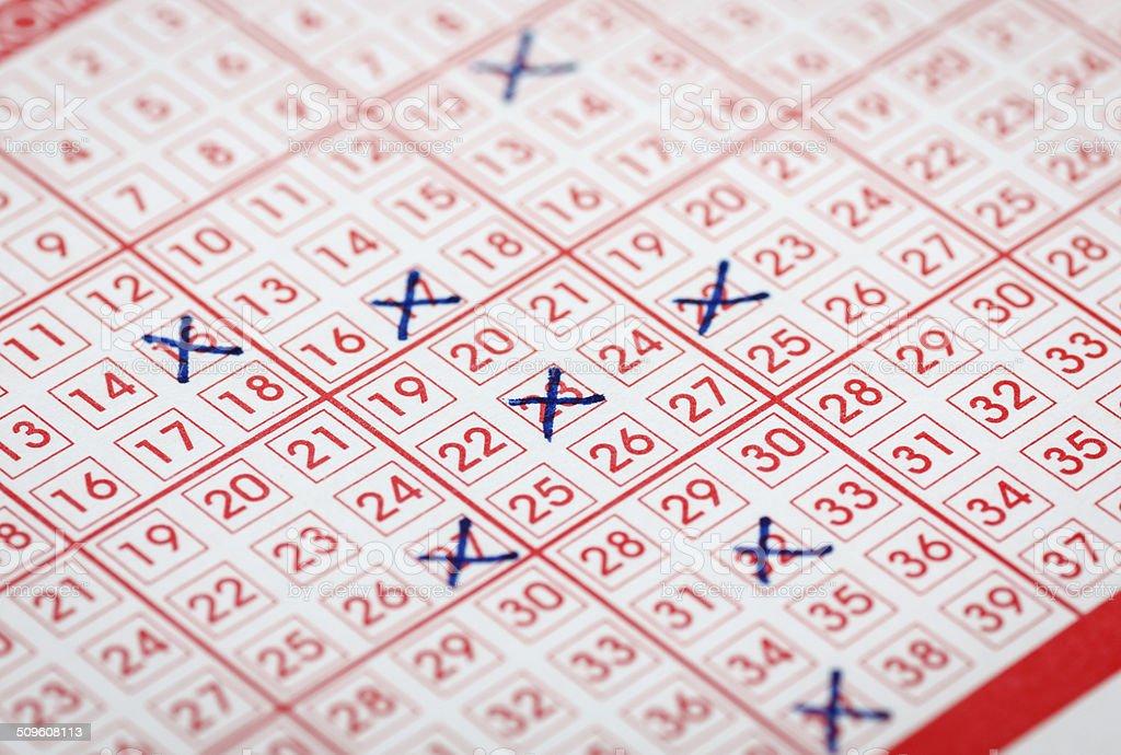 Lottery stock photo