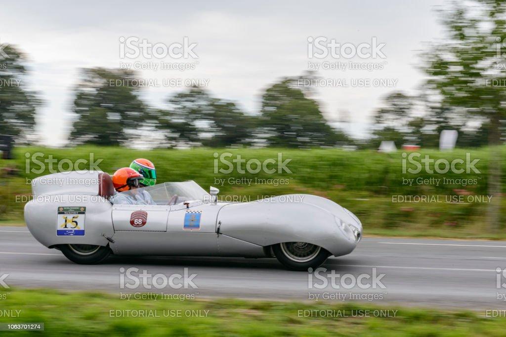 Voiture de course classique Lotus Eleven Le Mans - Photo