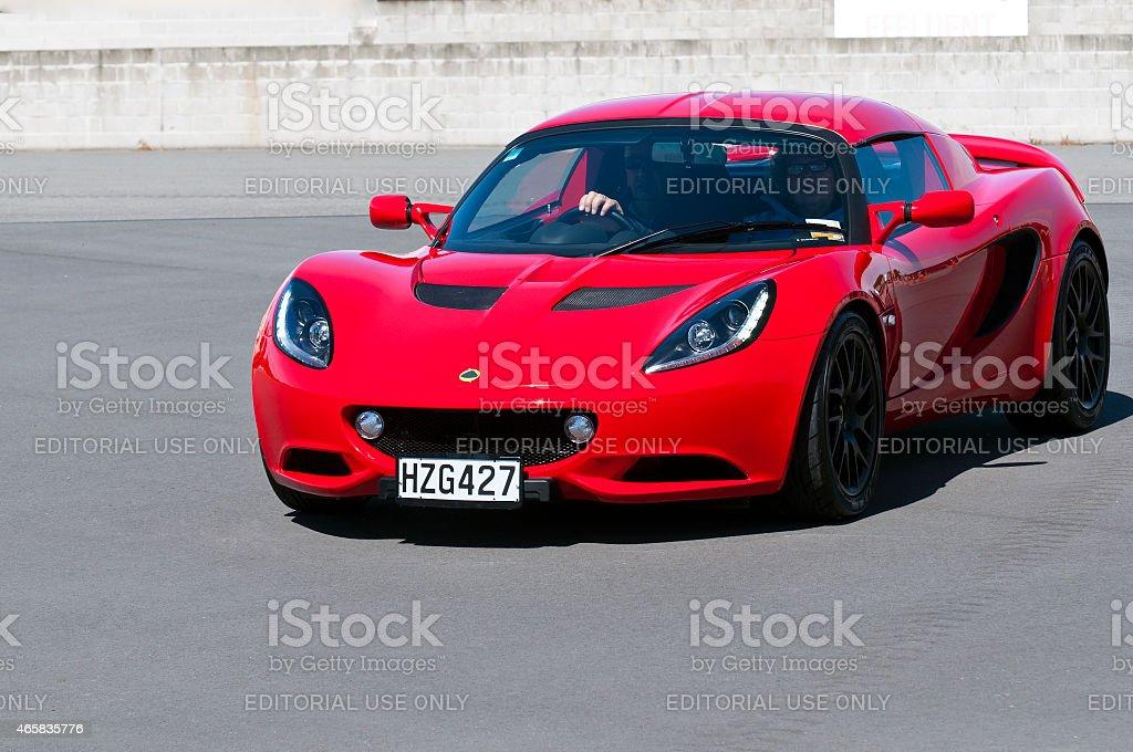 Lotus Elise from 2013 stock photo