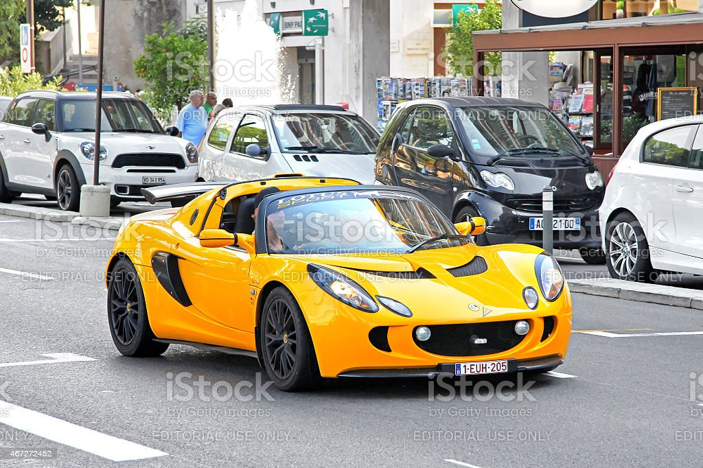 Lotus Elise stock photo