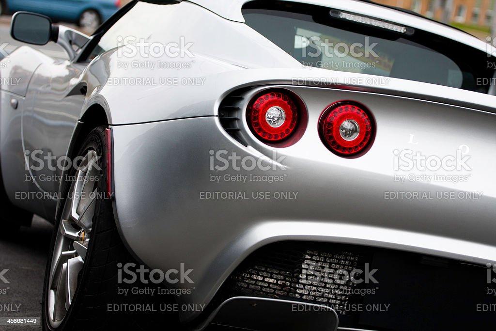 Lotus Elise Rear View stock photo