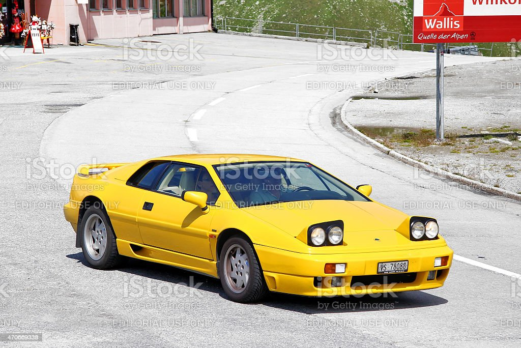 Lotus Esprit stock photo