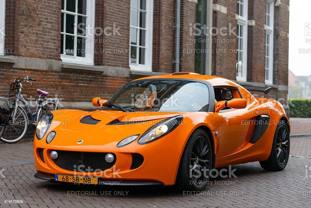Lotus Exige stock photo