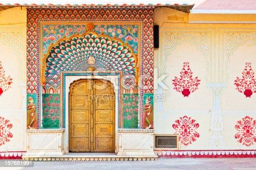 istock Lotus Gate - Pitam Niwas Chowk , City Palace Jaipur 157681991