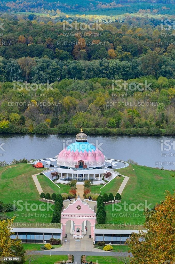 Lotus Shrine, Satchidananda Ashram, Yoga Ville, Virginia stock photo
