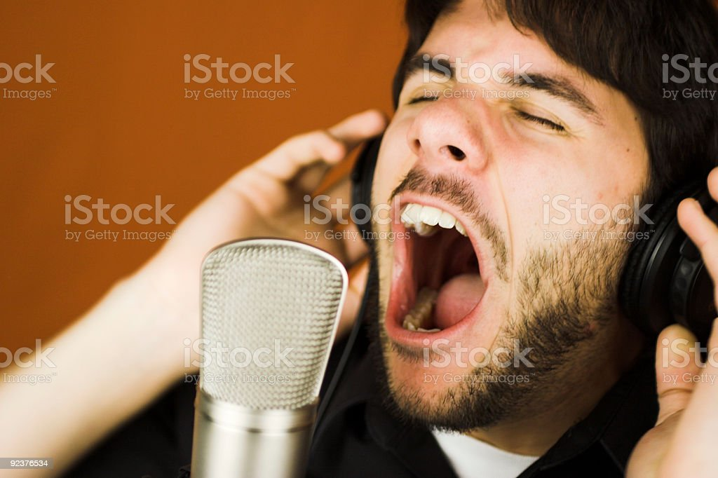 Loud royalty-free stock photo