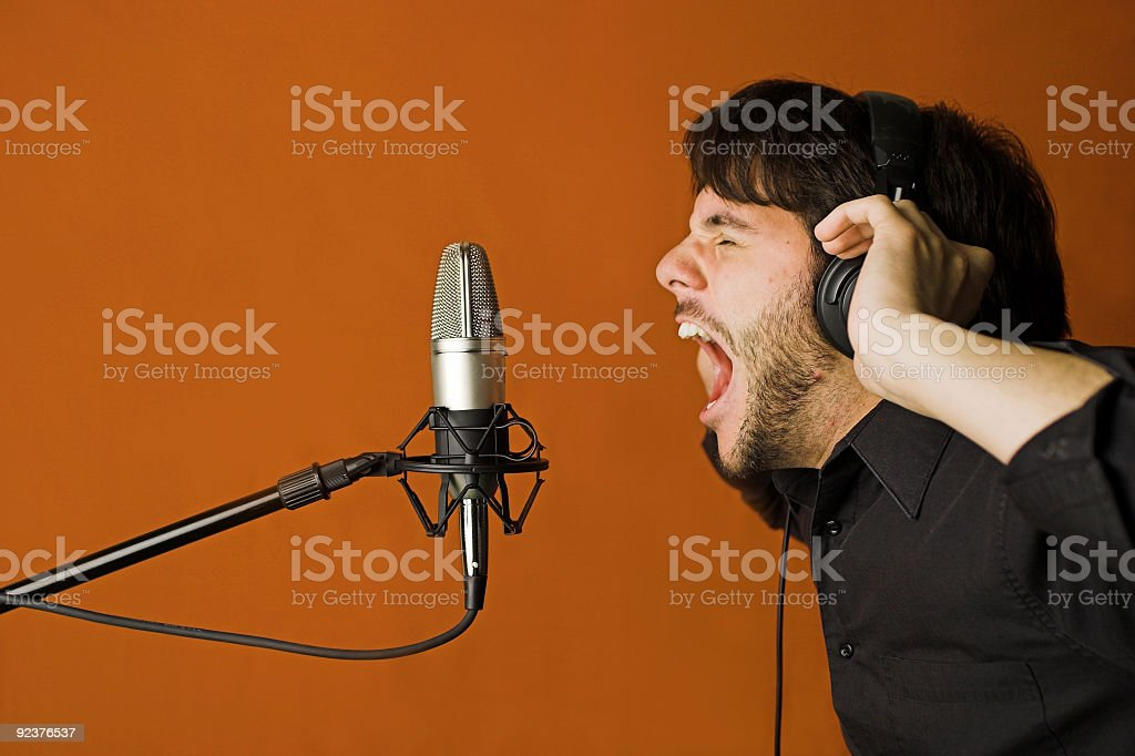 Loud royalty-free stock photo