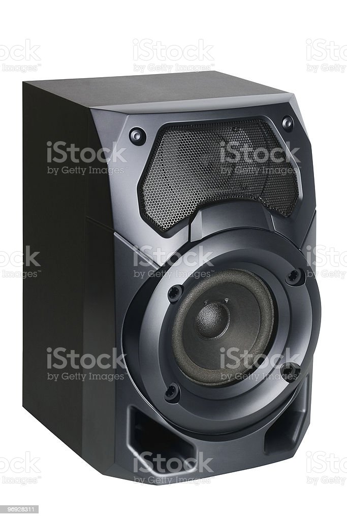 Loud speaker royalty-free stock photo