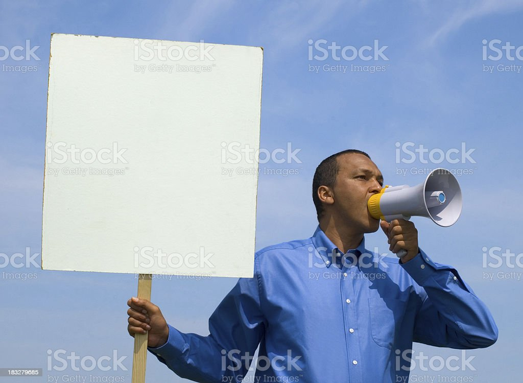 loudmouth royalty-free stock photo