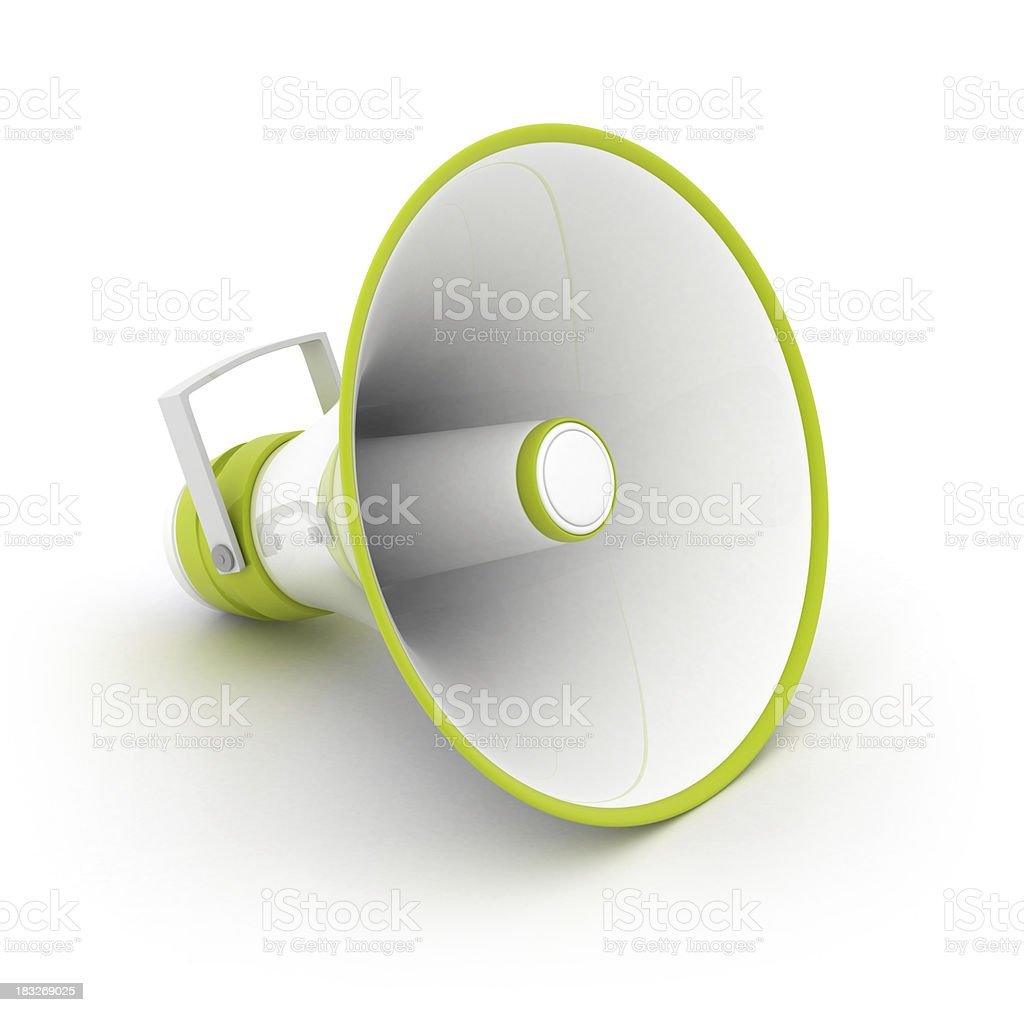 Loudspeaker royalty-free stock photo